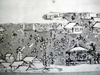 元禄期頃(1700年代)の八日市場村
