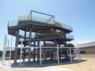 今泉浜津波避難タワーの画像