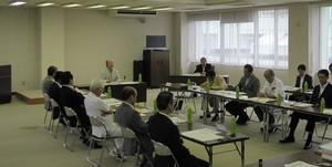 会議の様子の画像