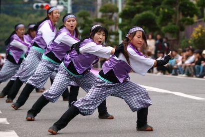 フォトコンクール:よかっぺよさこい鳴子踊り