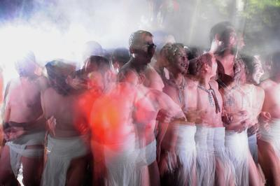 フォトコンクール:真冬の奇祭