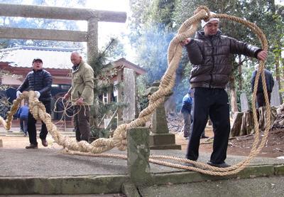 フォトコンクール:神蛇奉納