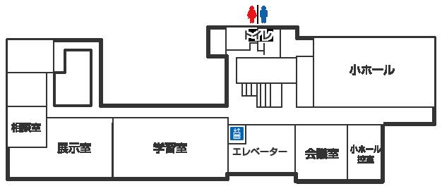 野栄総合支所2階