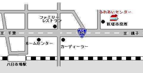 市民ふれあいセンター案内図