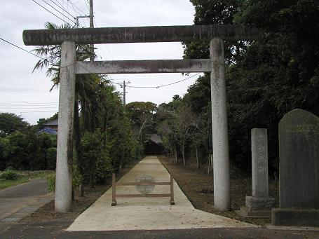 野手にある六社神社