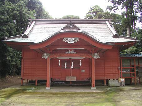 野手にある六社神社2
