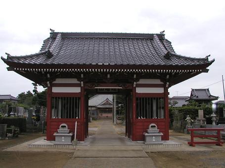 円長寺の仁王門