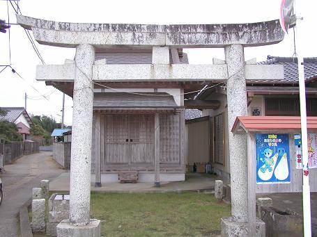 野手にある八雲神社