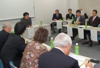 新生匝瑳戦略会議の様子1