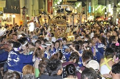 8月4日、5日の八重垣神社祇園祭の画像