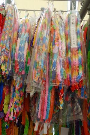 匝瑳市が献納した千羽鶴の写真