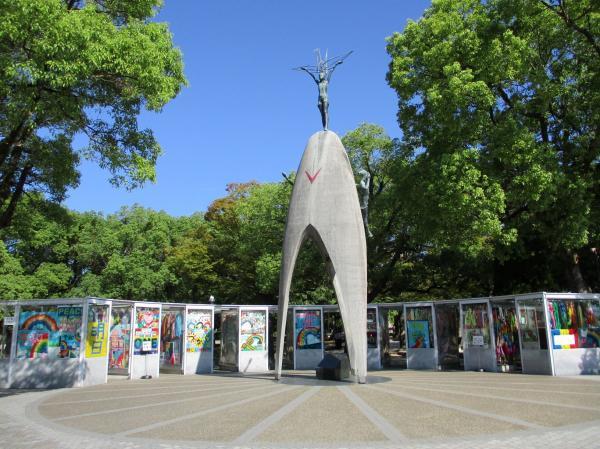 「原爆の子の像」の写真