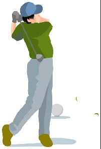 イラストゴルフ