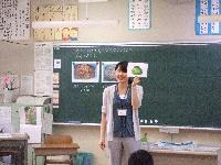 栄養教諭や管理栄養士による食育授業01