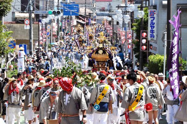 八重垣神社祇園祭(令和元年)連合渡御