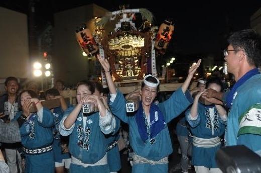 八重垣神社祇園祭(令和元年)女神輿