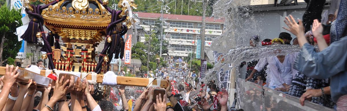 八重垣神社祇園祭2018年