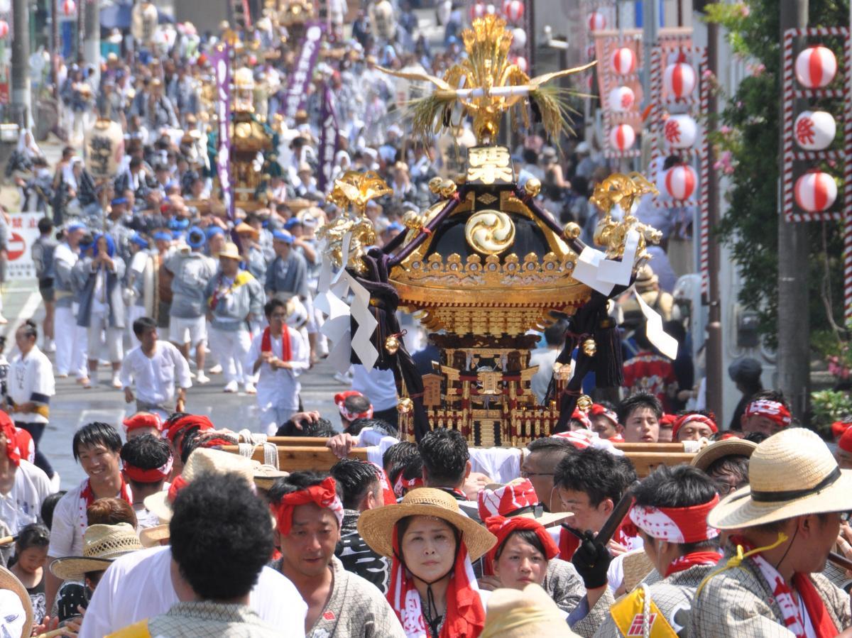 8月4日、5日に「八重垣神社祇園祭」が開催されました。をピックアップ
